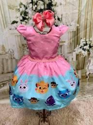 Vestido temático Bolofofos
