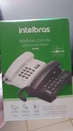Telefone fixo (Intelbras Pleno)