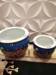 Conjunto vasos chineses