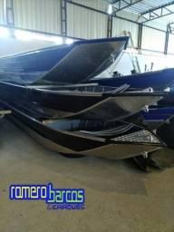 Barcos de Alumínio Rebitados - Novos - Pronta Entrega