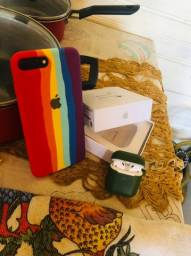 Iphone 8 plus 256 gb e aripods 2 da apple original