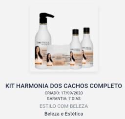 Kit harmonia dos cachos-COMPLETO