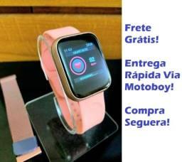 Smartwatch Digital / ThinFit W8 / Android e Ios com 2 Pulseiras - Frete Grátis!