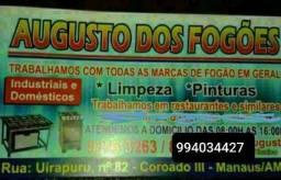 Fogão com defeito conserto tec,Augusto @?
