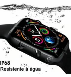 Smartwatch IWO W46 + Pulseira de brinde