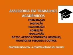 Trabalhos acadêmicos - TCC, Artigos, Monografias, etc