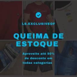 Promoção Queima de Estoque.