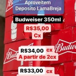 Budweiser Lata 350 ml 2.75 a unidade