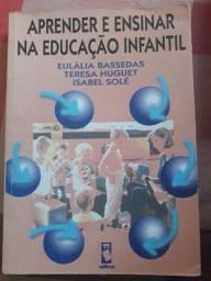 Livro Aprender e ensinar na educação infantil