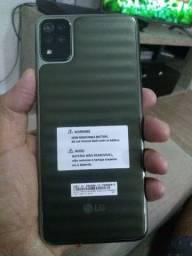 LG K52 completo com nota fiscal e garantia 11 meses