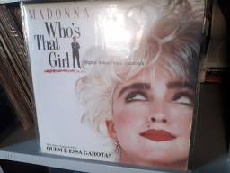 Lp Who's That Girl - Madonna VG++