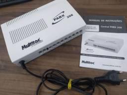 Central telefônica Multitoc PABX 208