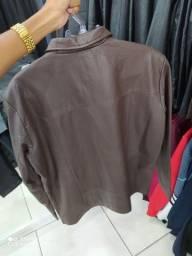 Jaqueta de couro Javali