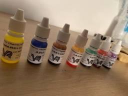 Pigmentos para resina
