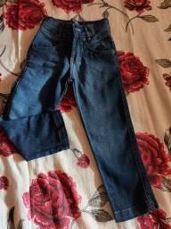 Calça comprida jeans infantil masculina