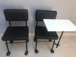 Título do anúncio: Cadeiras manicure