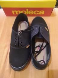Calçado feminino moleca, tamanho 38