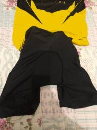 Camisa ASW e Short Confort.