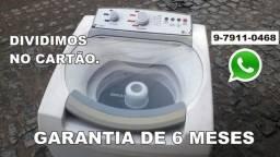maquina de lavar brastemp 8k, dividimos no cartão.. 500,00 preço de avista