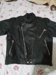 Jaqueta de Motoqueiro em Couro