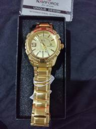 Relógio Dourado Original / À prova D'água