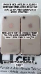 @mundicell_poa IPhone 8 64gb Anatel desbloqueado garantia