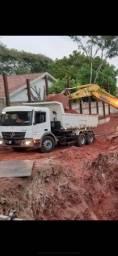 Caminhão Caçamba Atego 2429 2013 85mil Km