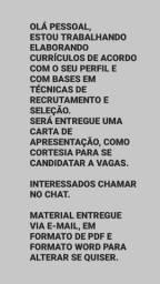 FAÇO CURRÍCULOS