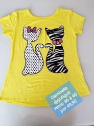 03 camisetas baby look R$:100