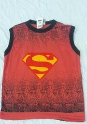 Lote 10 blusas infantis  super heróis