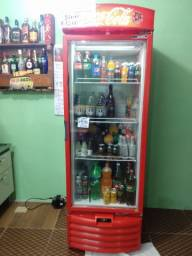 Freezer cooler da Coca cola Bombando