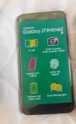 Samsung J7 Prime 2 Preto 32GB 16 dias de uso