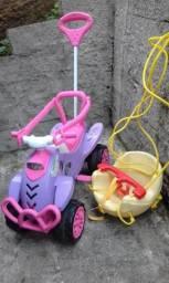 Triciclo + balanço
