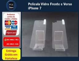 Película de Vidro Frente Verso iPhone 4/ 5/ 5S/ 6/ 7 /7 Plus/8/ 8 Plus Entrega Grátis