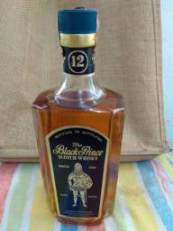 Whisky para colecionador 70/80 The Black Prince 12 years old