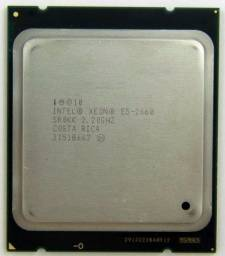 Processador Intel Xeon 2660 2.2 ghz 8 núcleos 16 Threads 22.5 MB cache 95w tdp LGA 2011