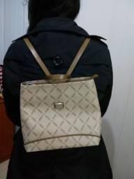 Linda bolsa de couro