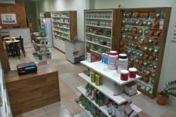 Vendo estrutura loja Produtos Naturais