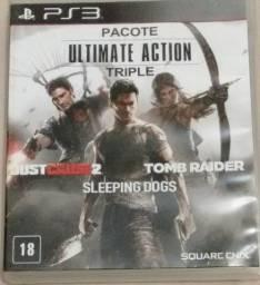 3 Jogos de PS3 por R$ 50,00 (3 em 1)