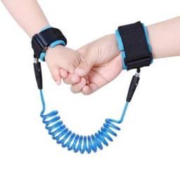 Corda protetora infantil com cabo de aço embutido
