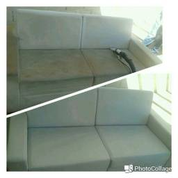 Higienização de sofás