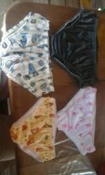 Vendõ cuecas e calcinhas pra criança