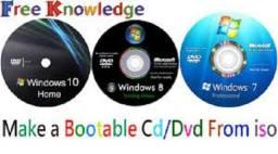 DVD com sistemas operacionais