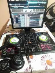 Controladora + Curso de DJ grátis + fone