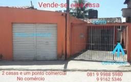 Vende-se 2 casas e 1 ponto comercial em Tamandaré. Fones: 081 9  */ 9  *