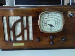 Radio Antigo Valvulado Nelson Olho Mágico Década De 40