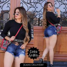 Jeans feminino, Entregas grátis