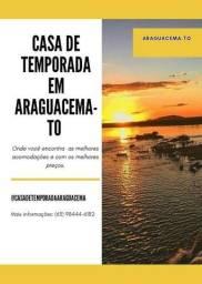 Casa para Temporada em Araguacema-To