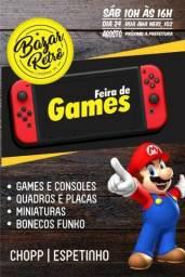 Feira de Games - Dia 24 de Agosto