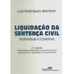 Livro - Liquidação Da Sentença Civil - Individual E Coletiva